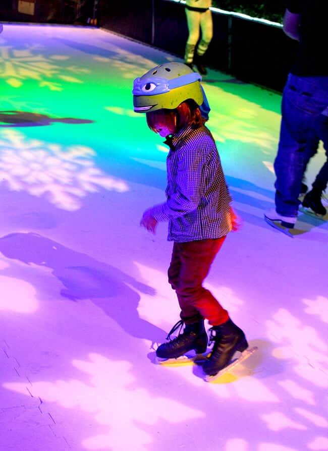 Ice Skating at the Four Seasons Westlake