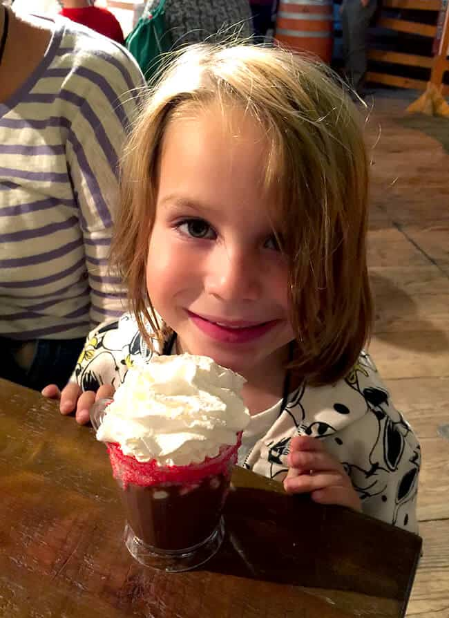 Knott's Berry Farm Hot Chocolate