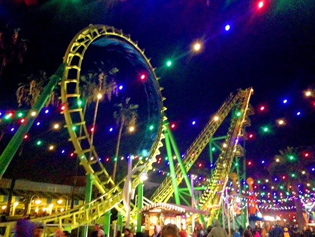 Knott's Celebration Lights