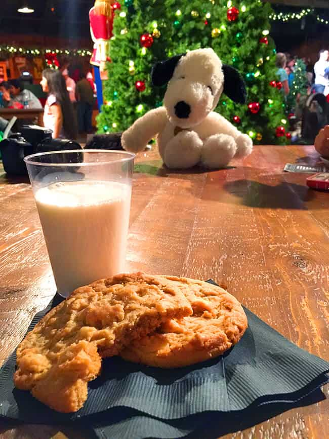 Milk and Cookies at Knott's