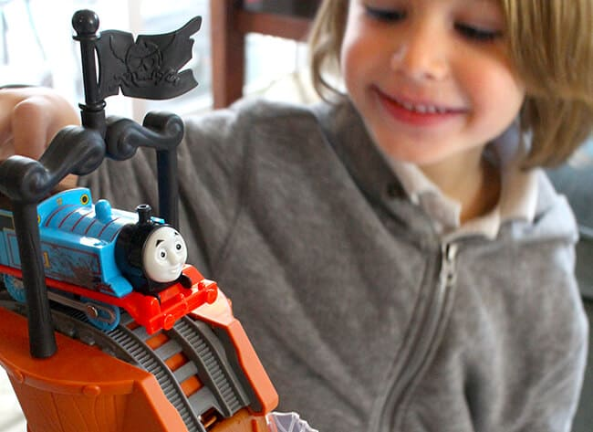 Playing with Thomas the Train Hidden Treasure Toys