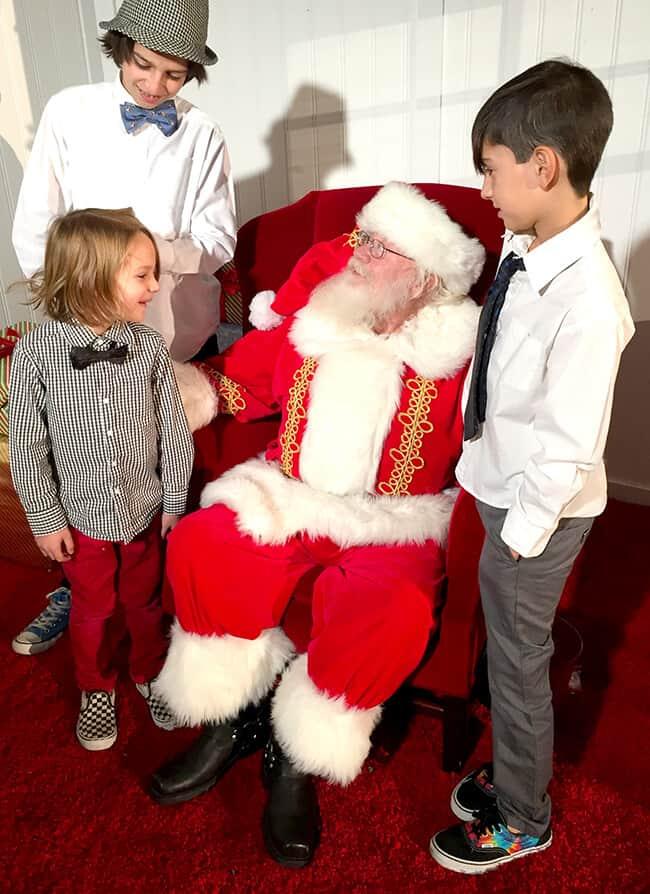 Santa at the Four Seasons