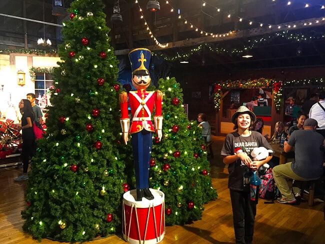 Santa's Cabin at Knott's