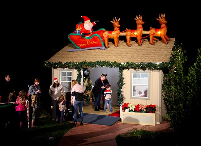 Santa's House at the Four Seasons