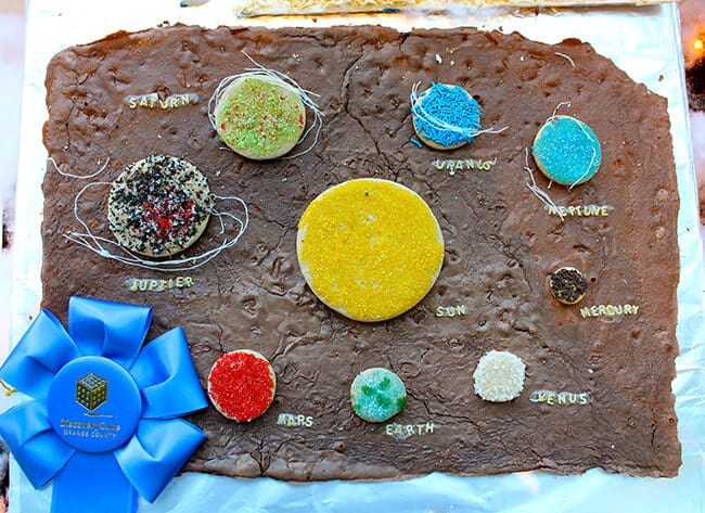 Solar System Gingerbread House