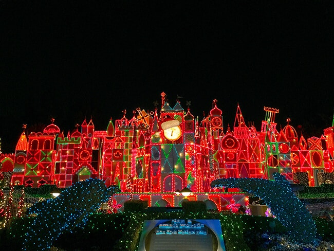 it's a small world at Christmas