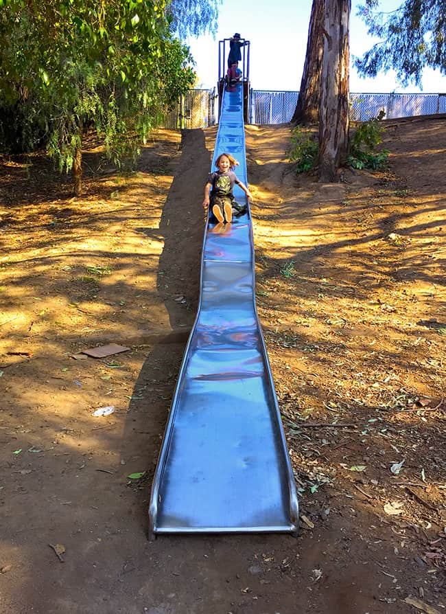 Big Slides at Santiago Creek Park