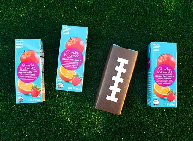 Football Juice Box ideas