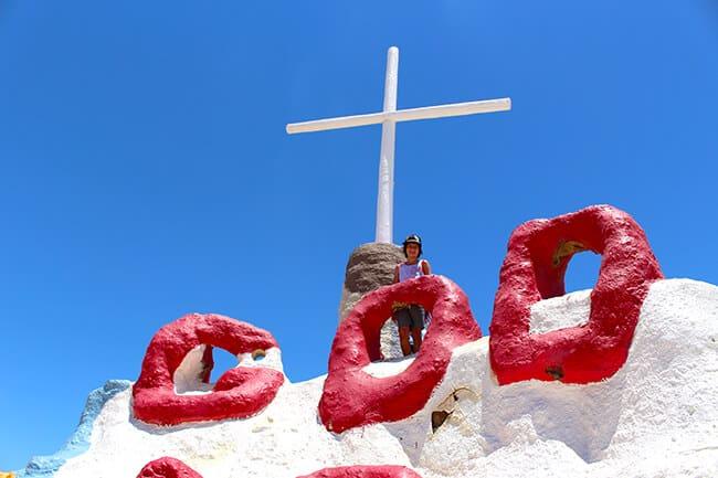 God at Salvation Mountain