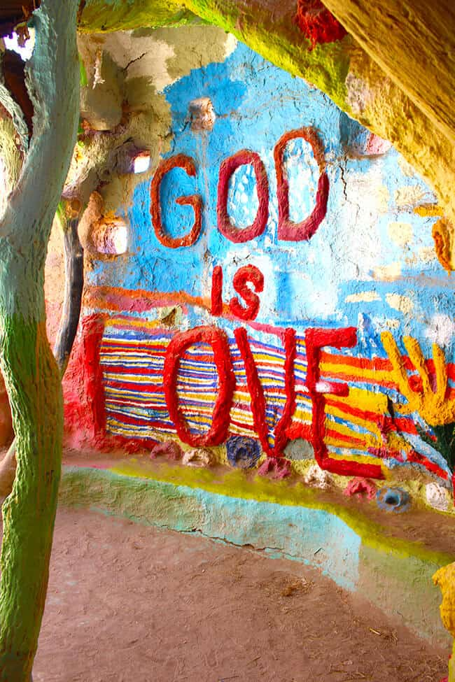God is Love at Salvation Mountain