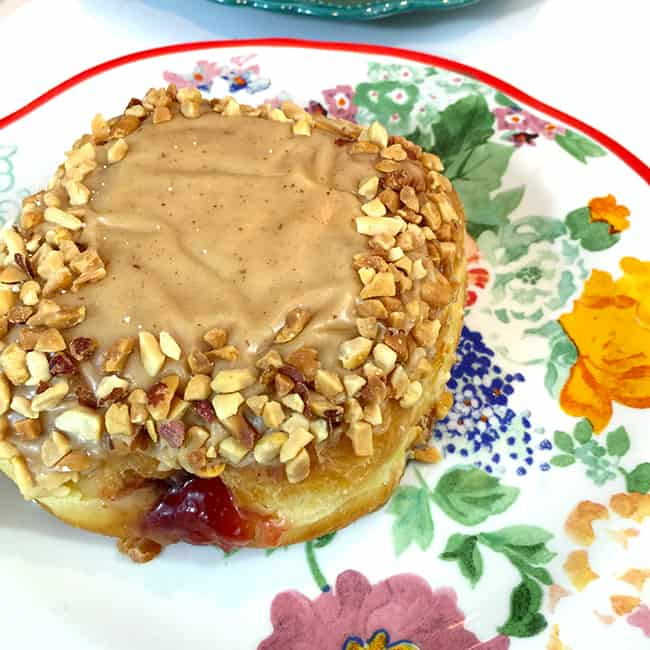 Peanut Butter and Jelly Donut
