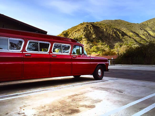 The Ranch at Laguna Beach Vintage Car