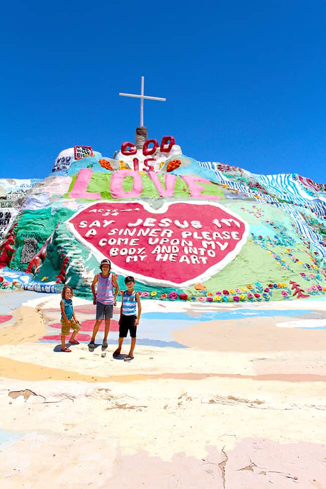 Trip to Salvation Mountain