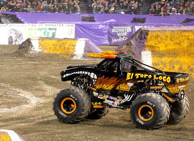 El Toro Loco at Monster Jam