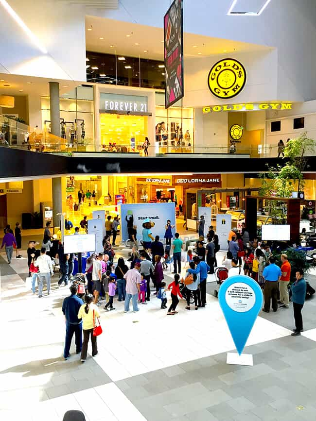 ScholarShare Westfield Mall Event