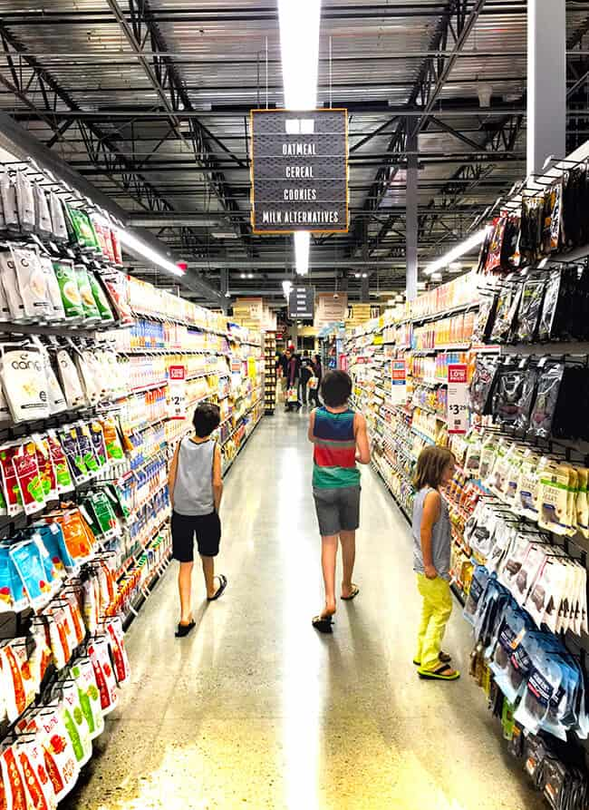 Shopping at Whole Foods Market Brea