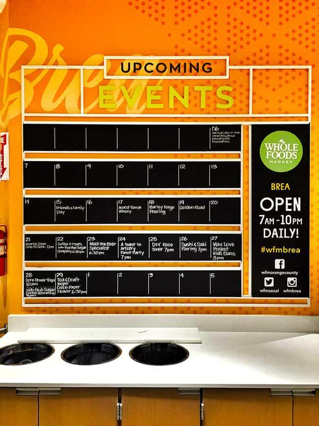 Whole Foods Market Brea Event Calendar