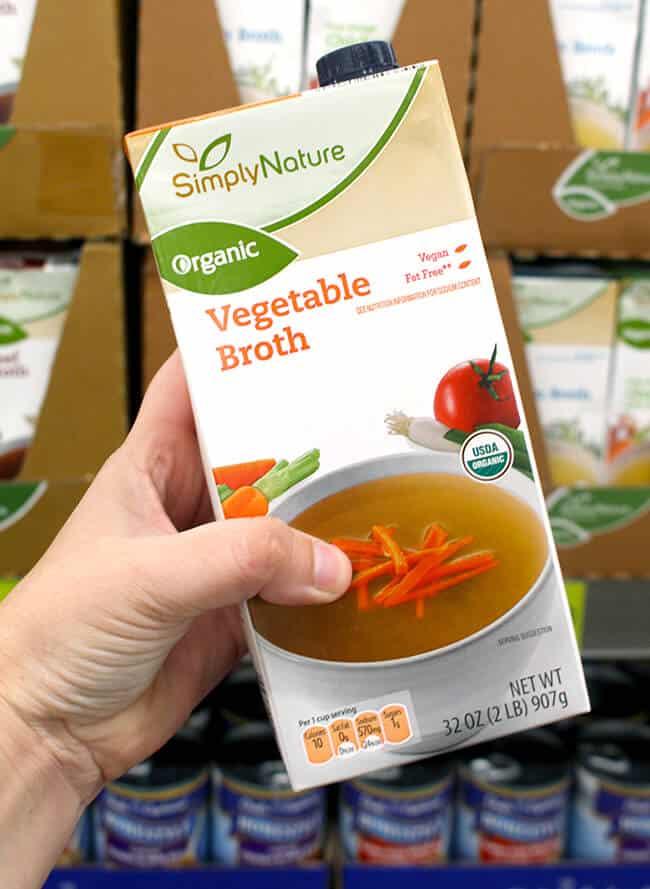 ALDI Vegetable Broth
