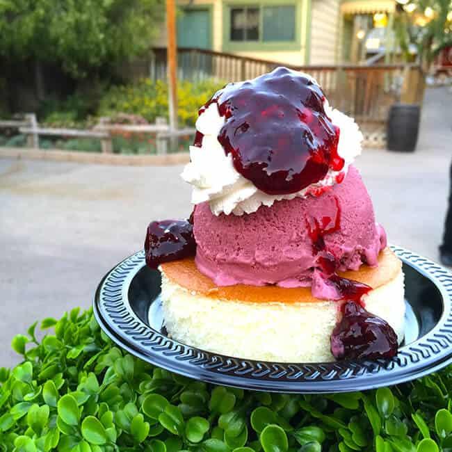 Boysenberry Trifle at Knott's Berry Farm