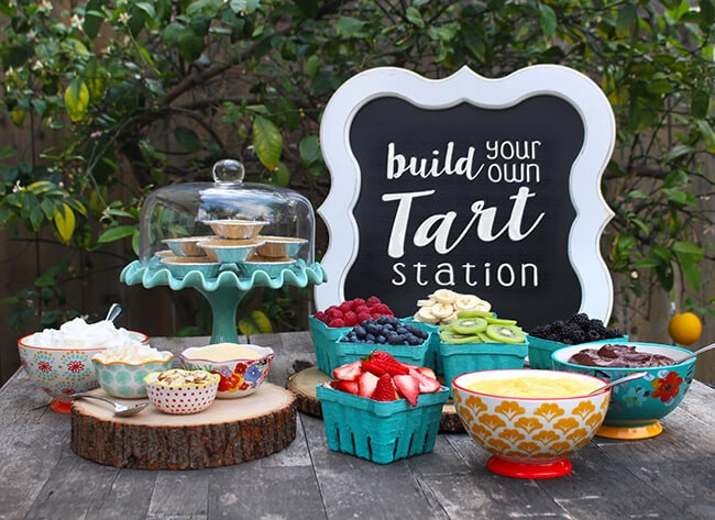 Build your own Tart Station idea