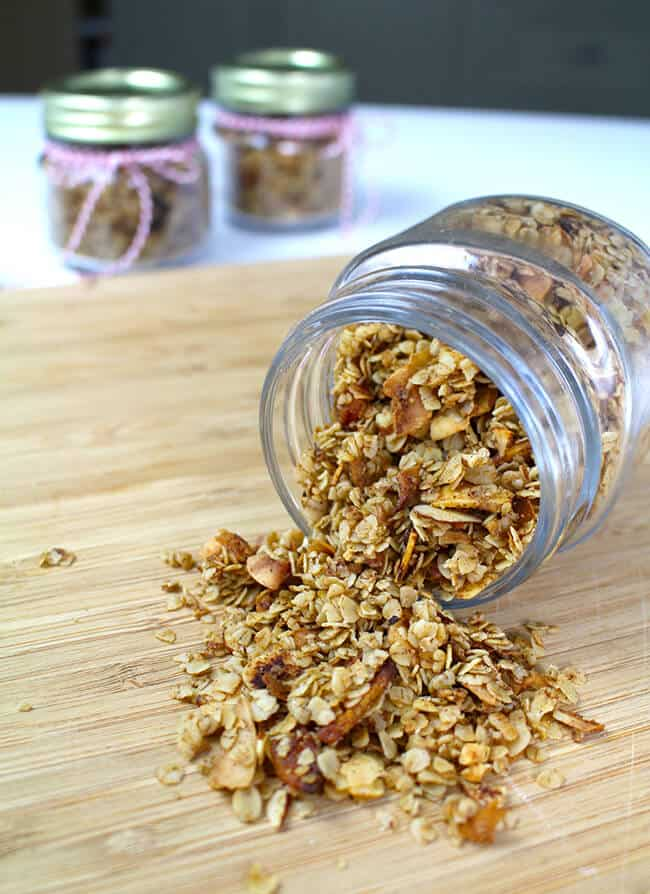 Easy Granola Gift Idea