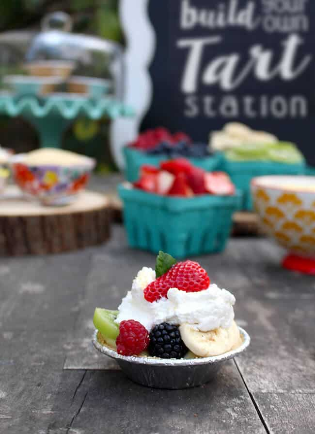 Fun Mini Tart Station