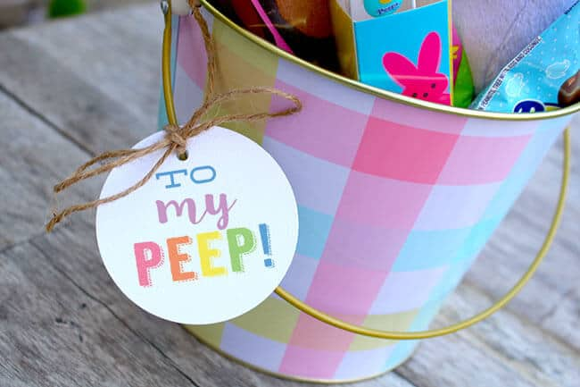 Fun Peep Easter Printable