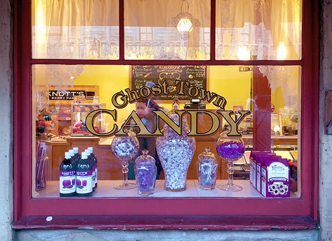 Ghost Town Candy Store at Knott's