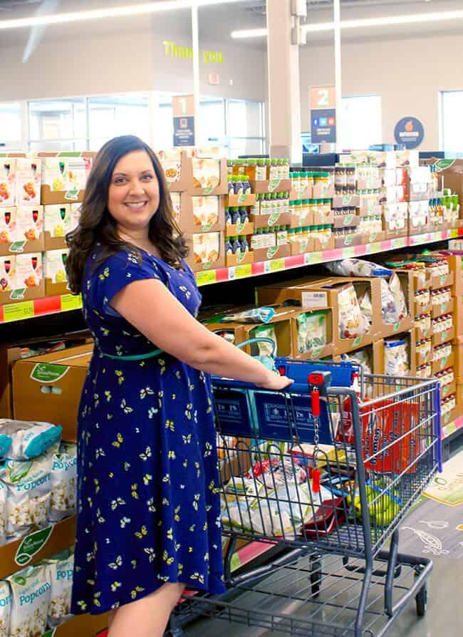 Jill Parkin at ALDI Food Market