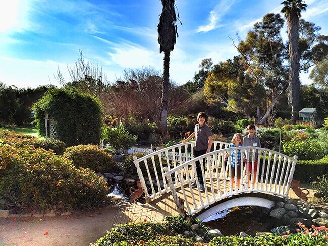 South Coast Botanic Garden Bridge