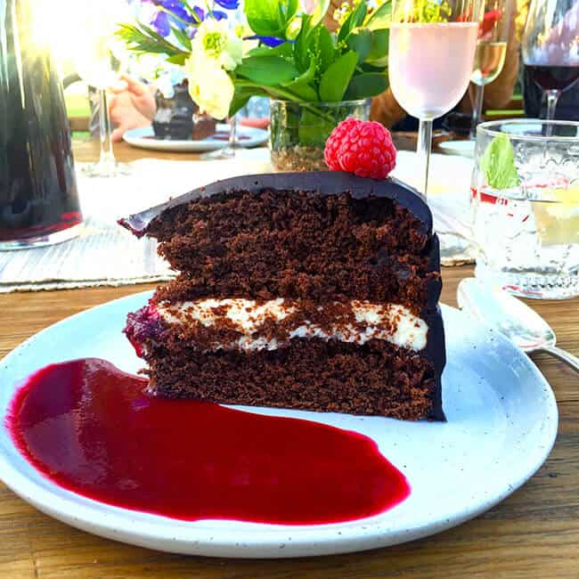 ALDI Chocolate Cake