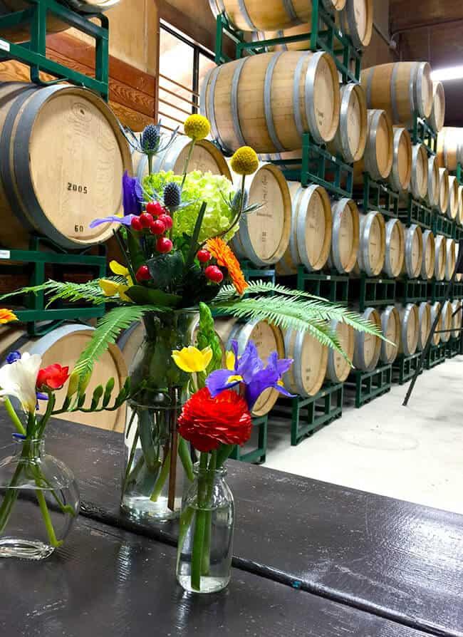 Bridlewood Estates Winery Wine Room