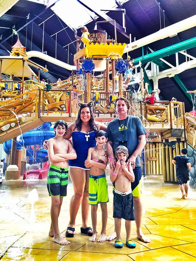 Our Family 39 S Visit To The Great Wolf Lodge In Southern California Popsicle Blog