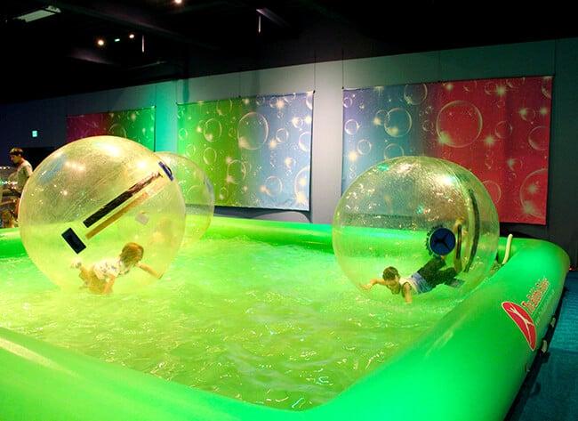 Kids Having Fun at Bubblefest