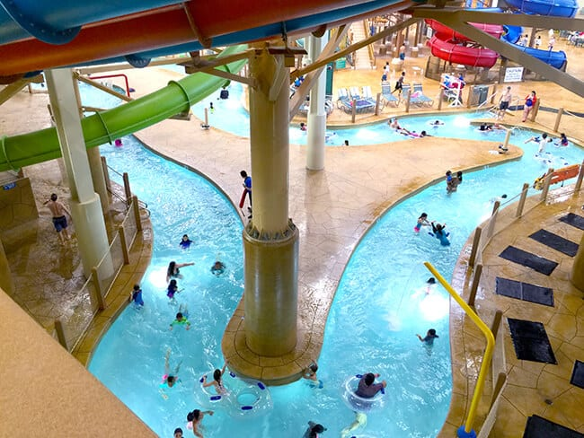 Lazy River at the Great Wolf Lodge