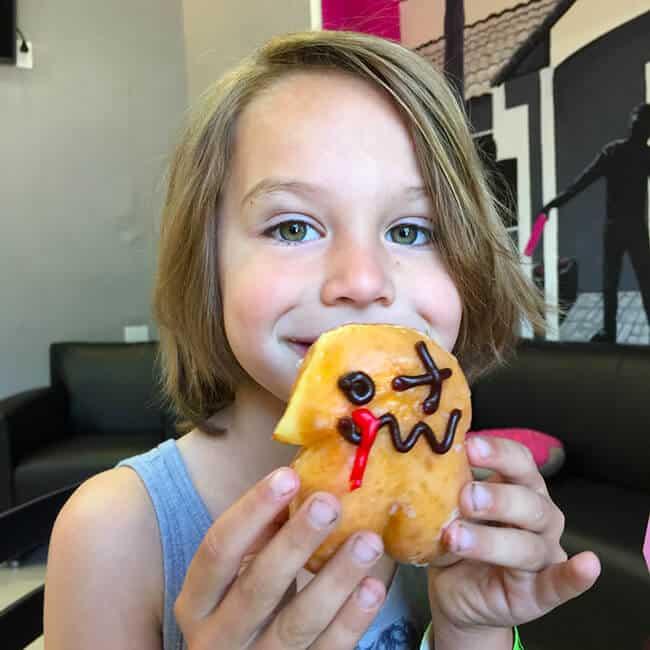 Mini Zombie Donut