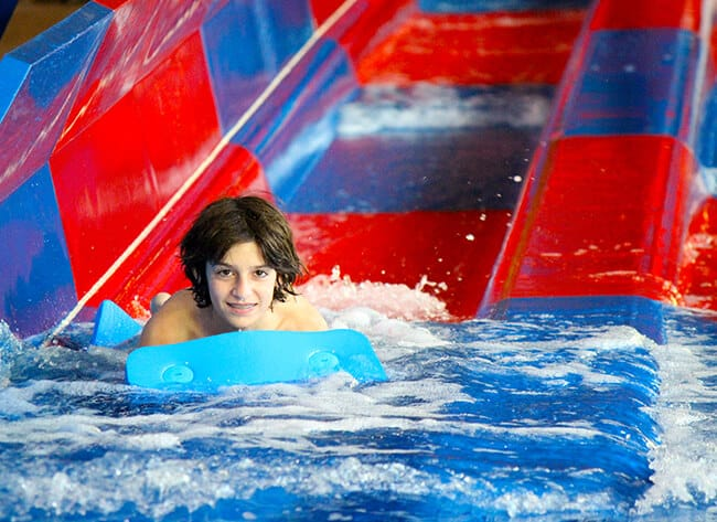 Raft Slides at the Great Wolf Lodge