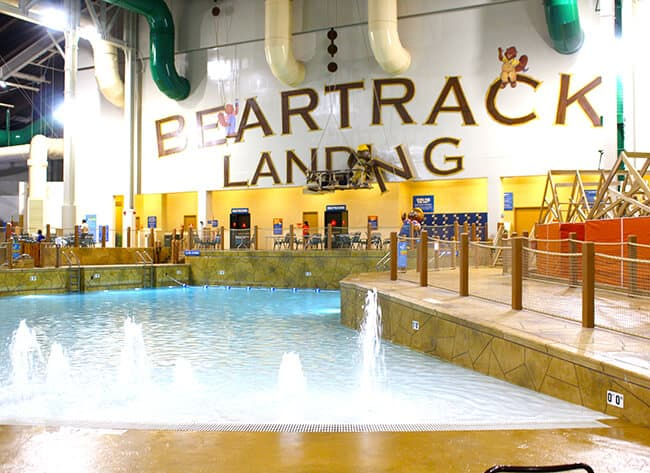 Wave Pool at the Great Wolf Lodge