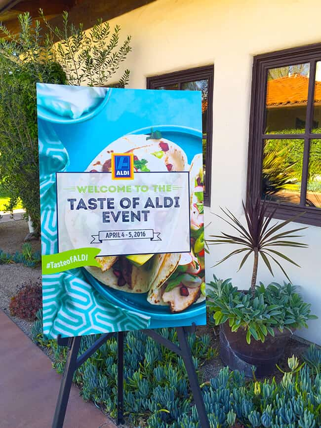 Welcome to the Taste of ALDI Event