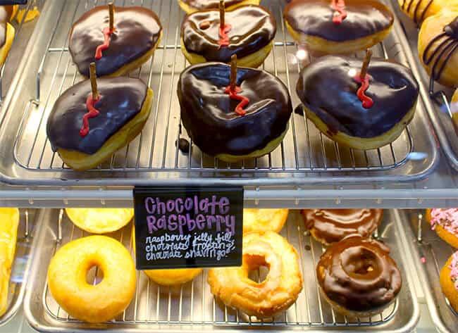 Zombee Chocolate Raspberry Donut