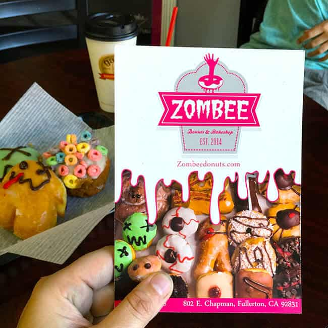 Zombee Donuts and Bakeshop in Fullerton