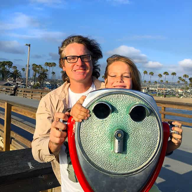 Family Fun at Balboa Beach