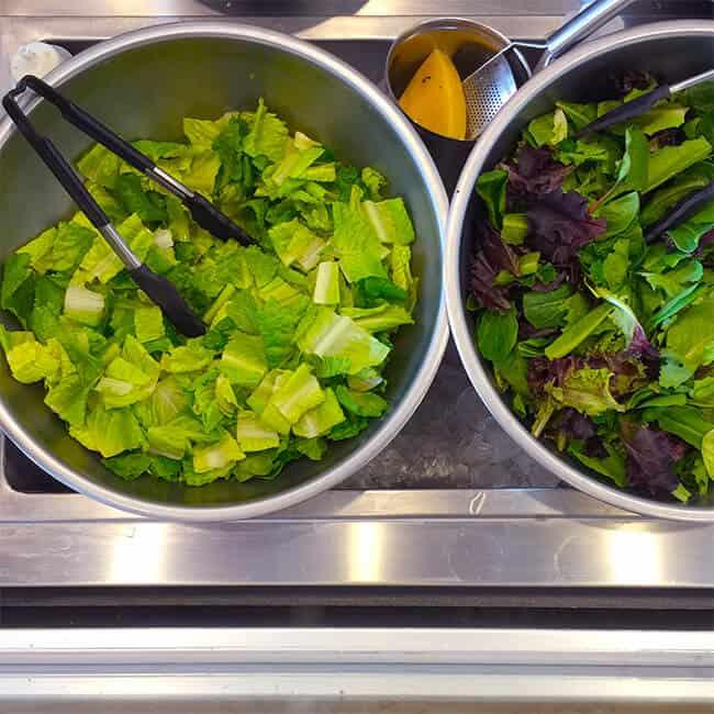 Fresh Salad at The Melt