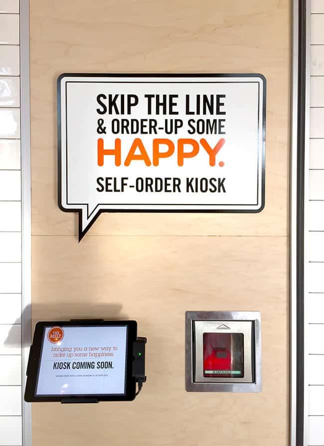 Kiosk at The Melt