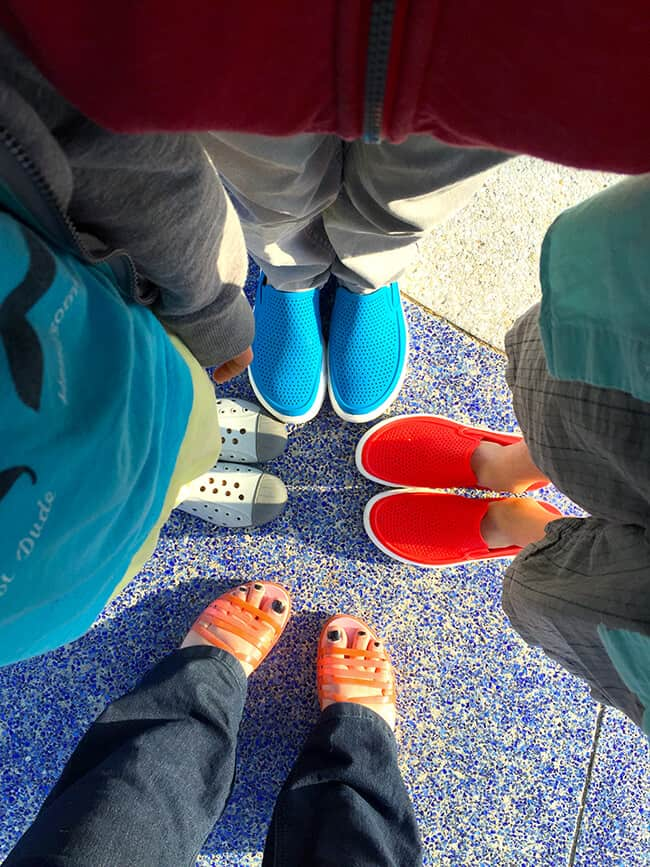 Sandy Toes and Popsicle Blog Family Crocs