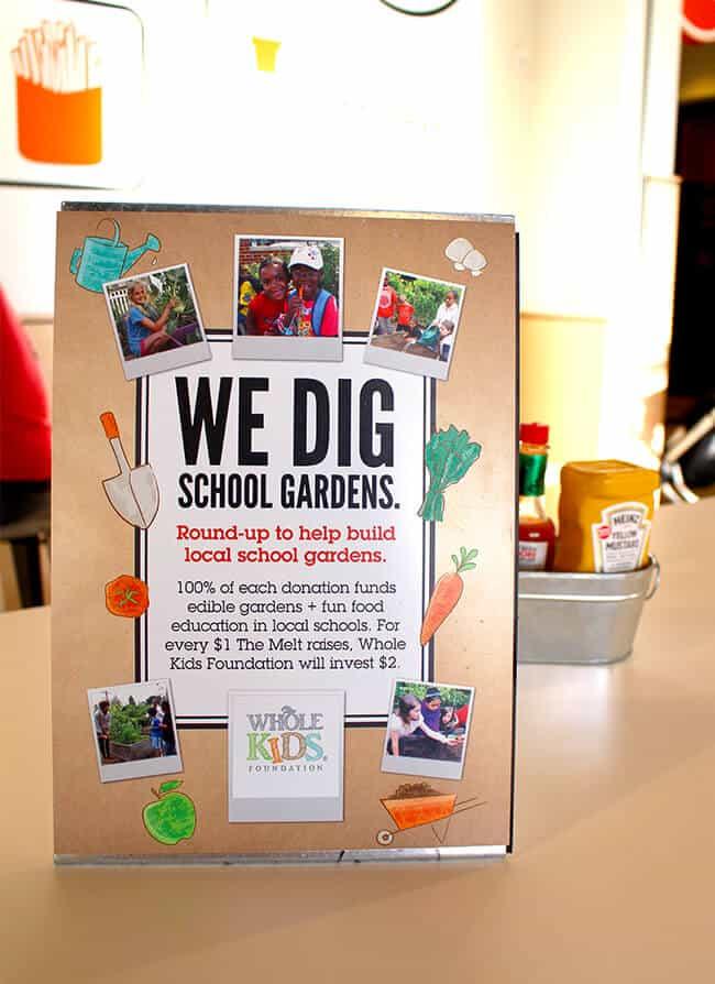 The Melt Helps School Gardens
