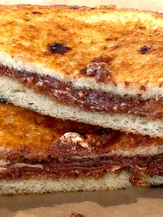 The Melt Smore Grilled Cheese