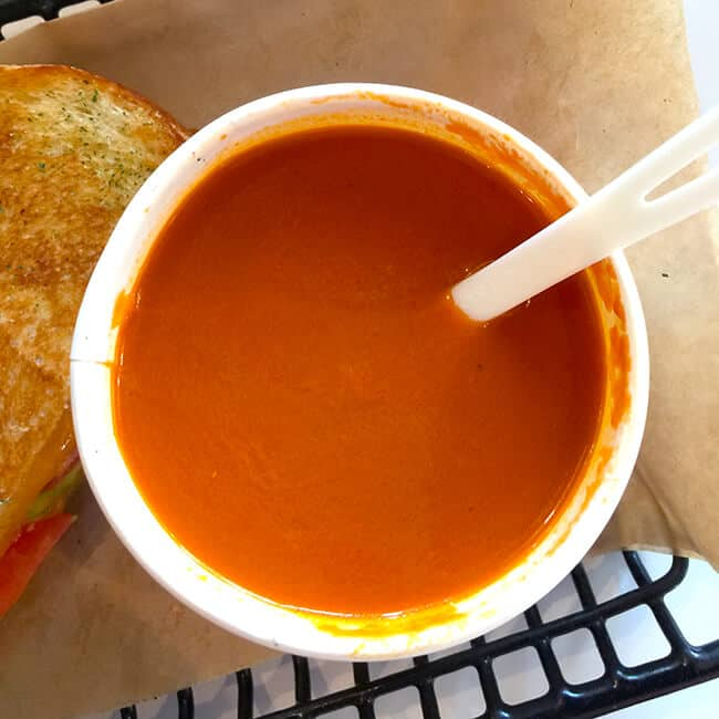 Tomato Soup at The Melt