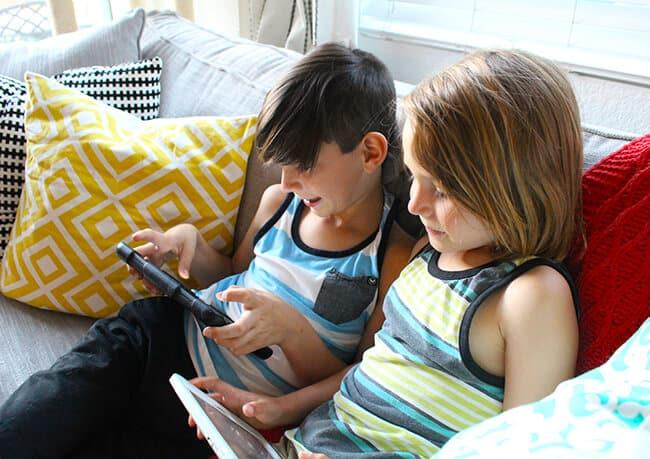 Controlling Kids Technology