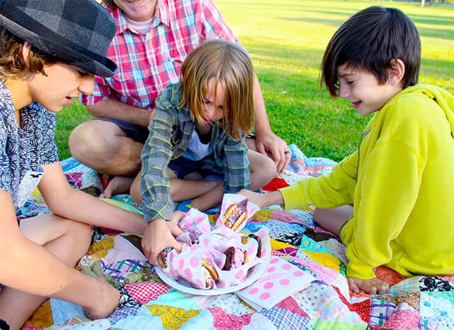 Ice Cream Party in the Park